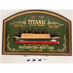 Titanic Decorative Wall Hanging  (119986)