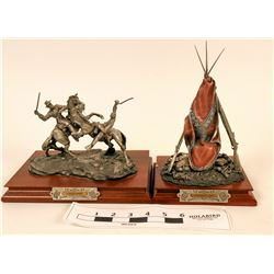 Pewter Civil War Figures (2)  (118998)