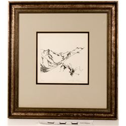 Leroy Neiman Signed Original Etching  (120872)