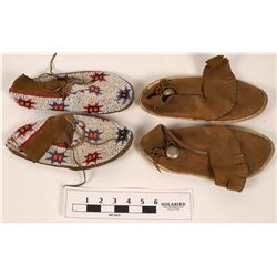 Moccasins, Two Pairs  (120029)