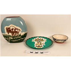 Modern Native American Ceramics (3)  (121687)