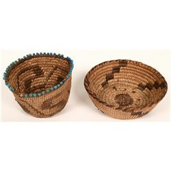 Two Small Pima Baskets  (120838)