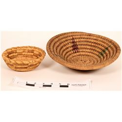 Two Early Pima Baskets  (120822)
