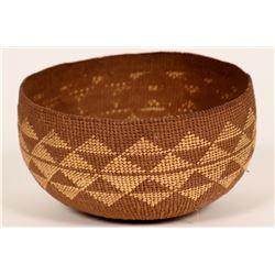 Vintage Hupa Basket/Hat  (120825)