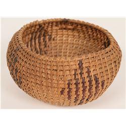 Vintage Washoe Basket Bowl  (120824)
