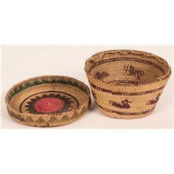 Vintage Makah/Nootka Basket  (121011)