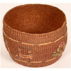 Antique Tlingit Basket  (121012)