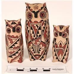 Three Owls from Jemez  (121019)