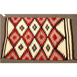 Navajo Eye Dazzler Rug - Beautiful Example!  (122248)