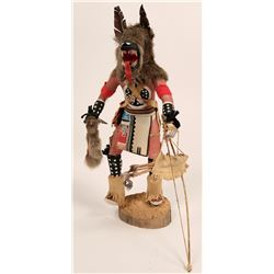 Grey Wolf Kachina  (120964)