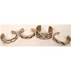 Four Hopi Cuffs  (121117)