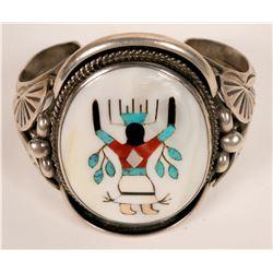 Navajo Inlay Cuff  (121097)
