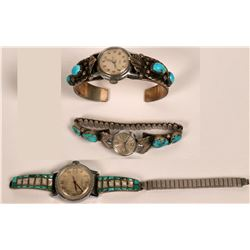Navajo Vintage Watch Bands  (121106)