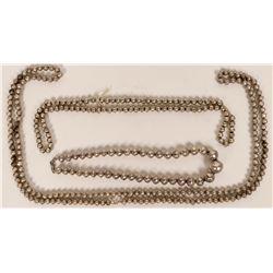 Silver Navajo Bead Necklaces  (121187)