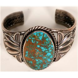 Navajo Turquoise Cuff - Royston  (120987)