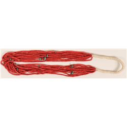10-Strand coral Necklace  (120992)