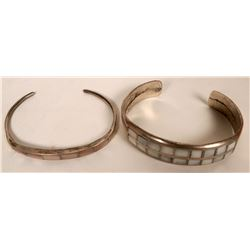 Mother of Pearl Inlay Bracelets  (121119)