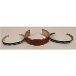 Three Cuffs from Zuni  (121096)