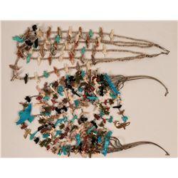 Zuni Fetish Necklaces  (121105)