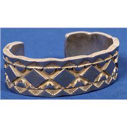 Darin Bill Heavy Sterling Bracelet  (120598)