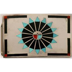 F. L. Natachu Belt Buckle, Vintage  (121996)