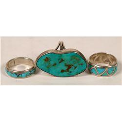 Native American Rings (3)  (121112)
