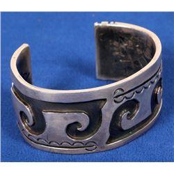Hopi Silver Bracelet, Vintage  (120599)