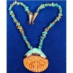 Santa Domingo Shell Necklace  (121998)