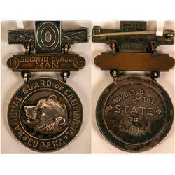 California National Guard Sterling Silver Pin  (121497)