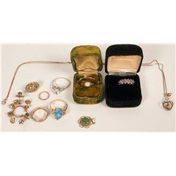 Vintage 14K Gold Jewelry  (121234)