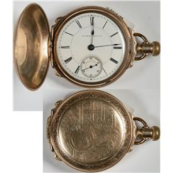 Illinois Hunters' Case Pocket Watch  (121297)