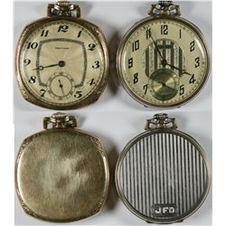 A Pair of Waltham Pocket Watches  (121293)