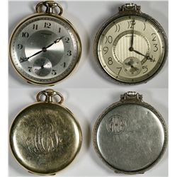 Duo of Howard Pocket Watches  (121292)