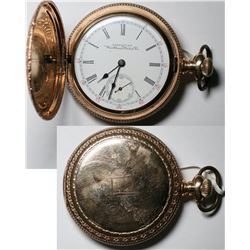 A 17 Jewel Waltham Pocket Watch  (121295)