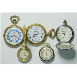 Five modern Pocket Watches  (109009)