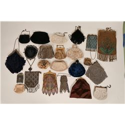 Passel of Vintage Coin, Clutch Purses & Reticules  (121581)