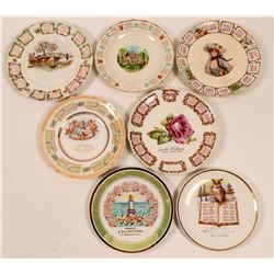 California Souvenir Advertising and Calendar Plates, Bay Area (7)  (112625)