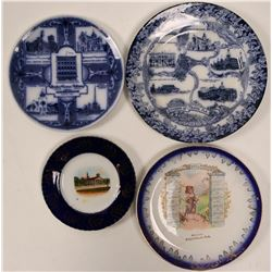 Florida Souvenir Advertising and Calendar Plates (4)  (112623)