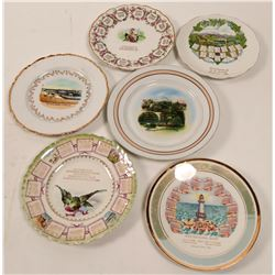 Missouri Souvenir Advertising and Calendar Plates  (6)  (112624)