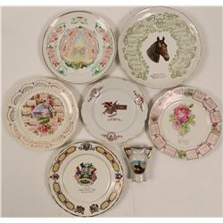Montana Souvenir Advertising and Calendar Plates  (7)  (112629)