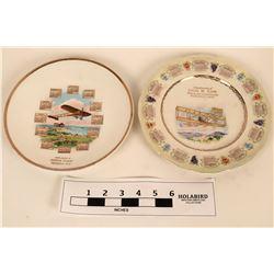 Airplane Souvenir plates  (122542)