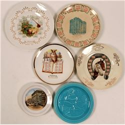 New York Souvenir Calendar Plate Collection (6)  (112695)