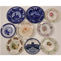 Ohio Souvenir Calendar Plate Collection  (9)  (112691)