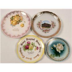 Oregon Souvenir Plates non-Calendar (4)  (112618)