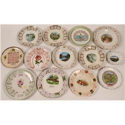 Oregon Calendar Plates (12)  (112676)