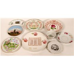 Washington Souvenir Advertising and Calendar Plates  (9)  (112751)