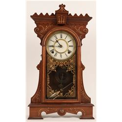 Clock: Waterbury Sheffield Parlor Clock  (121283)