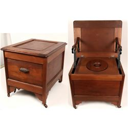 19th Century Commode  (120634)