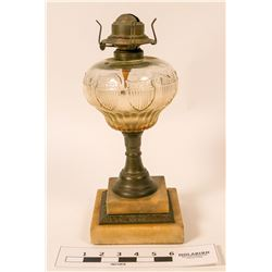 Antique Kerosene Lamp  (112083)