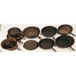 Cast Iron Pan Group  (122730)